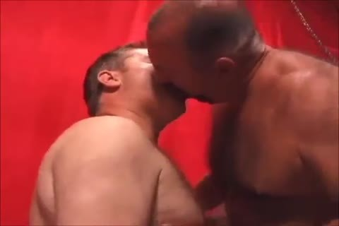 Two palatable Daddies pounding